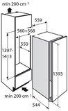 Atag KD80140CD inbouw diepvrieskast