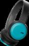 JVC HA-S30BT Bluetooth draadloze koptelefoon turquoise